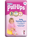Huggies Pull-Ups Disney Princesses Girl Size 5 11-18kg 14 Potty Training Pants