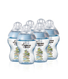 tommee tippee closer to nature Easivent Bottle 260ml x6 Blue