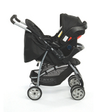 Graco Mirage Black Rock Group 0+ Travel System