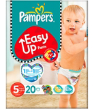 Pampers Nappies Easy-Up Size 5 (Junior) 11-25kg 20 Nappies