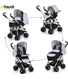 Hauck Eagle Pushchair Set in Silver