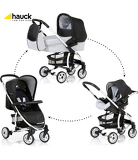 Hauck Malibu Pushchair Set in Silver