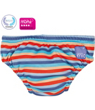 Bambino Mio Washable Swim Nappy Orange Stripe 5-7kg