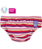 Bambino Mio Washable Swim Nappy Pink Stripe 7-9kg