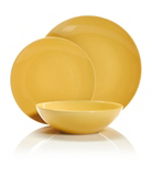 George Home Yellow Dinner Set - 12 Piece