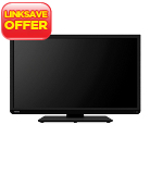 Toshiba 32ins High Definition LED TV with Built-in DVD Player
