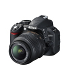 Nikon D3100 SLR 18-55mm VR Lens Kit - 14MP - Black