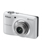 Nikon L25 Digital Compact Digital Camera - 10MP - White