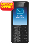 Nokia Asha 206 Mobile Phone - O2