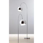 ASDA Chrome Arc Floor Lamp