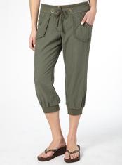 G21 Linen Blend Crop Trousers