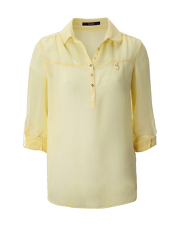 Sheer Blouse - Yellow