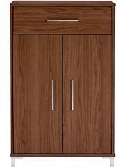 george home kaitlin display unit walnut effect home. Black Bedroom Furniture Sets. Home Design Ideas