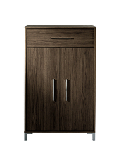 lowell 1 drawer 3 door sideboard walnut effect view. Black Bedroom Furniture Sets. Home Design Ideas