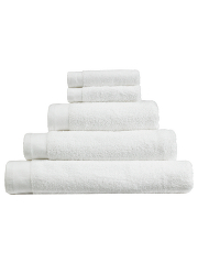 George Home White Microfibre Rubber Backed Bath Mat