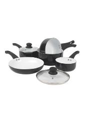 pan sets pots pans home garden george at asda. Black Bedroom Furniture Sets. Home Design Ideas