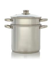 saucepans pots pans home garden george at asda. Black Bedroom Furniture Sets. Home Design Ideas