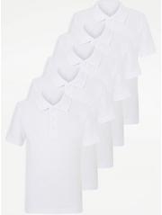 Girls School Polo Shirts Girls School Uniform George