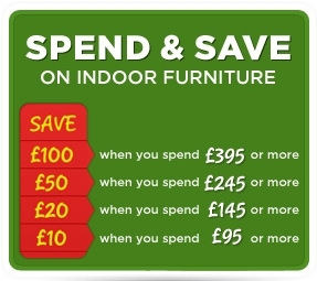 Spend & Save on indoor Furniture