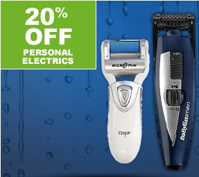 20% off personal electrics