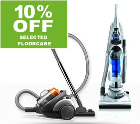10% OFF - Selected Floorcare