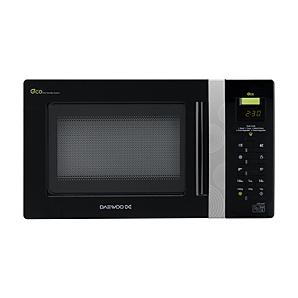 daewoo kor6aor 20l 800w microwave oven black. Black Bedroom Furniture Sets. Home Design Ideas