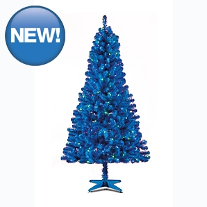 pop up christmas trees straight from the box upside down. Black Bedroom Furniture Sets. Home Design Ideas