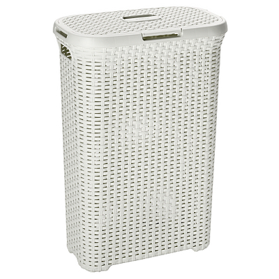Curver rattan effect laundry hamper vintage white laundry asda direct - Superhero laundry hamper ...
