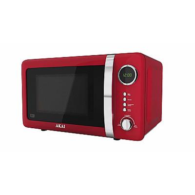 akai 700w digital microwave red microwaves asda direct. Black Bedroom Furniture Sets. Home Design Ideas