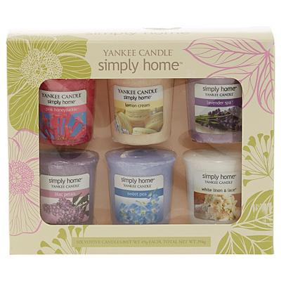 yankee candle six pack of spring samplers candles. Black Bedroom Furniture Sets. Home Design Ideas
