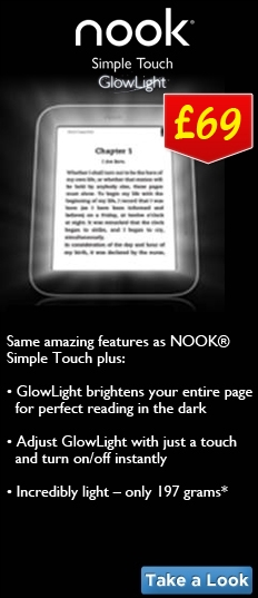 Nook Simple Touch Glow Light