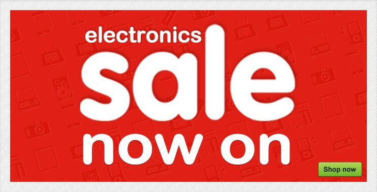 Electronics sale now on