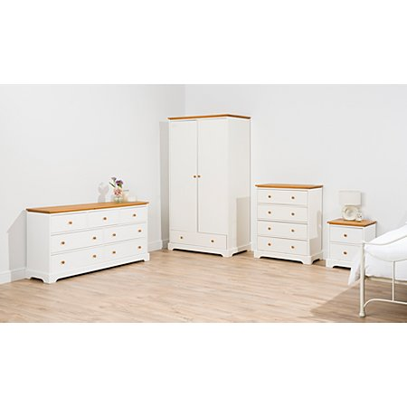 George home gilmore bedroom furniture range two tone for Bedroom furniture sets george