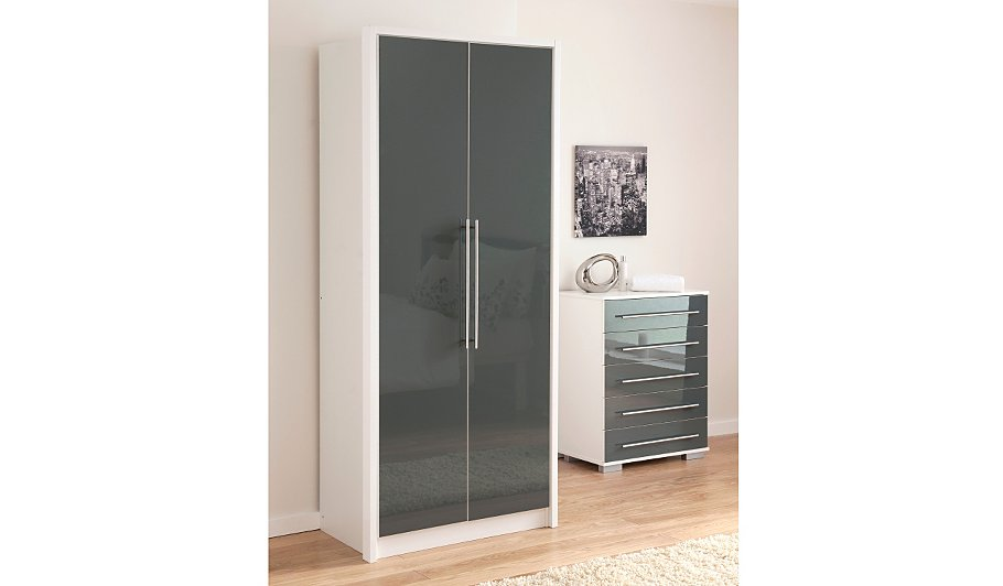 asda wardrobes white frame mirror sliding wardrobe doors. Black Bedroom Furniture Sets. Home Design Ideas