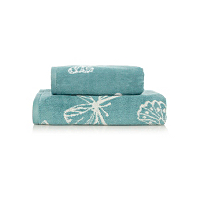 George Home Duck Egg Butterfly Print Range Towels Amp Bath