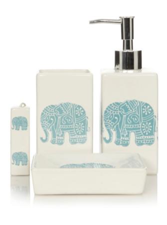 George Home Elephants Bathroom Accessories Bathroom