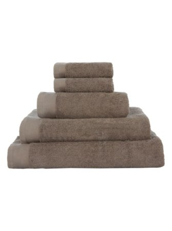 100% Cotton Towel Range - Dark Natural
