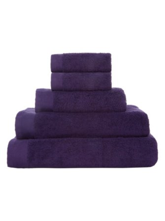 100% Cotton Towel Range - Purple