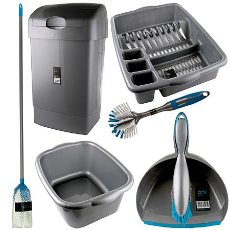 starter home cleaning bundle mops brooms buckets. Black Bedroom Furniture Sets. Home Design Ideas