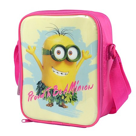 proud to be a minion lunchbag kids dining asda direct. Black Bedroom Furniture Sets. Home Design Ideas