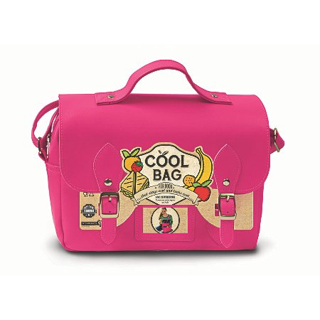 hot pink satchel lunch bag kids dining asda direct. Black Bedroom Furniture Sets. Home Design Ideas