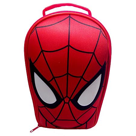 ultimate spiderman 3d shaped eva lunch bag kids dining. Black Bedroom Furniture Sets. Home Design Ideas