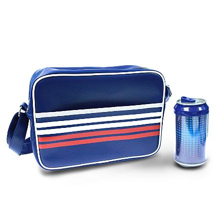sports satchel and drinks can blue kids dining asda direct. Black Bedroom Furniture Sets. Home Design Ideas