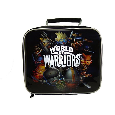 world of warriors lunch bag. Black Bedroom Furniture Sets. Home Design Ideas