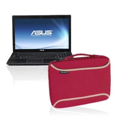 Asus Laptop Sx155v With Targus Laptop Skin - Red