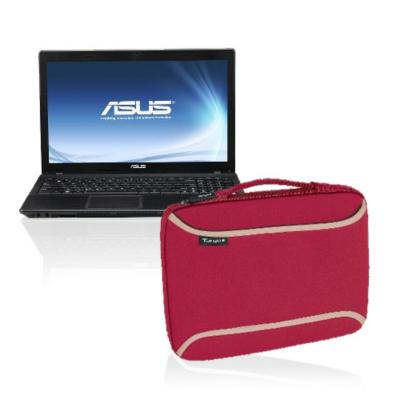 Asus Sx137v Laptop With Targus Laptop Skin - Red
