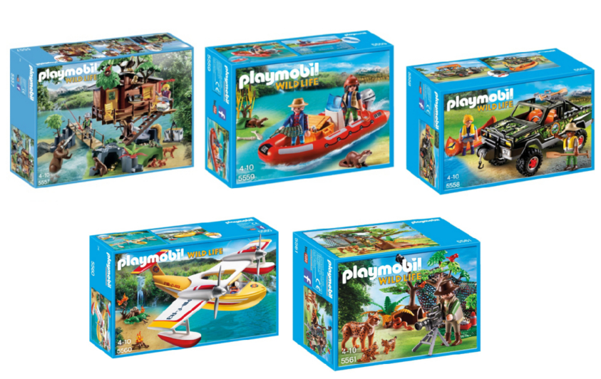 Playmobil Wild Life Tree House 5 Pack Bundle Playmobil