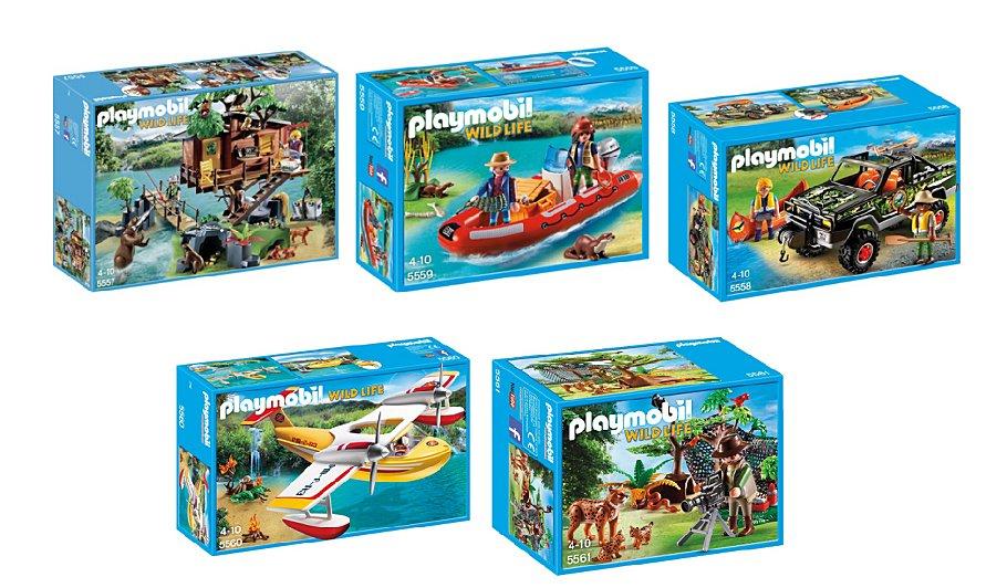 playmobil wild life tree house 5 pack bundle playmobil george at asda. Black Bedroom Furniture Sets. Home Design Ideas