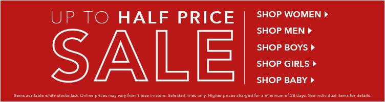 50% sale banner