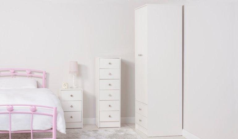 George Home Drake Kids Furniture Range - White